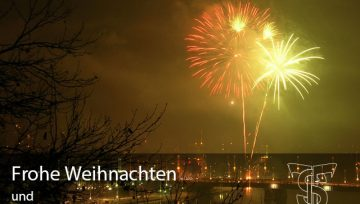 Schöne Feiertage und taucht's gut rüber ins neue Jahr!